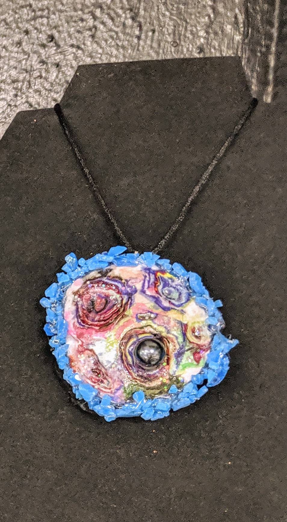 Necklace made by Morgan Nelson, Grade 12