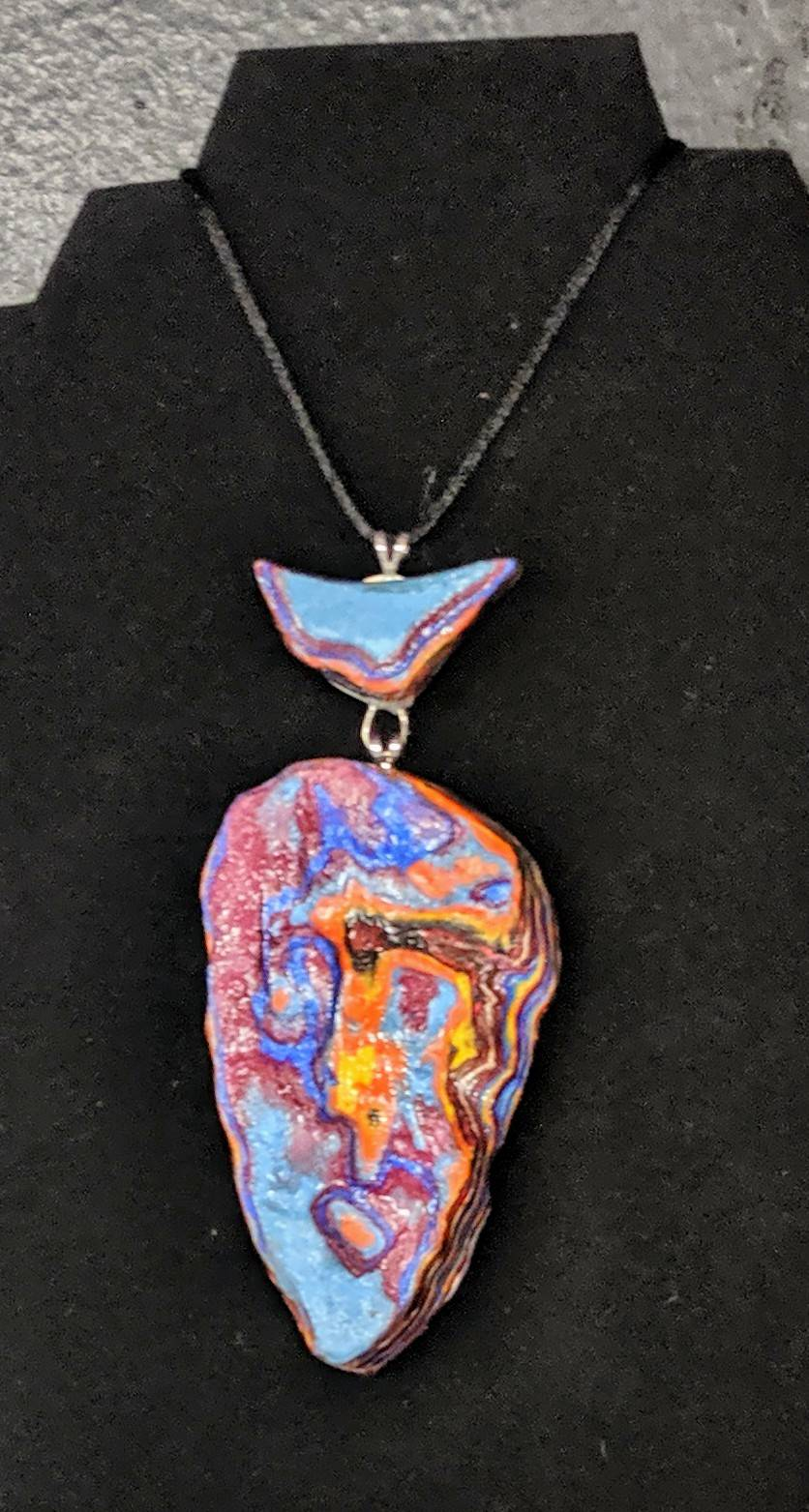 Necklace made by Jeremy Byler, Grade 10