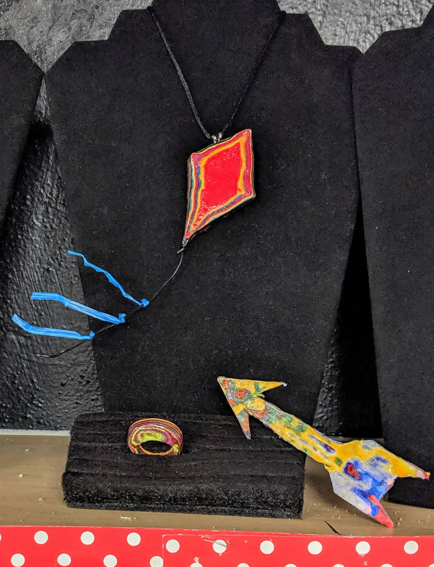 Kite Necklace by Mackenzie Sloan, Grade 12