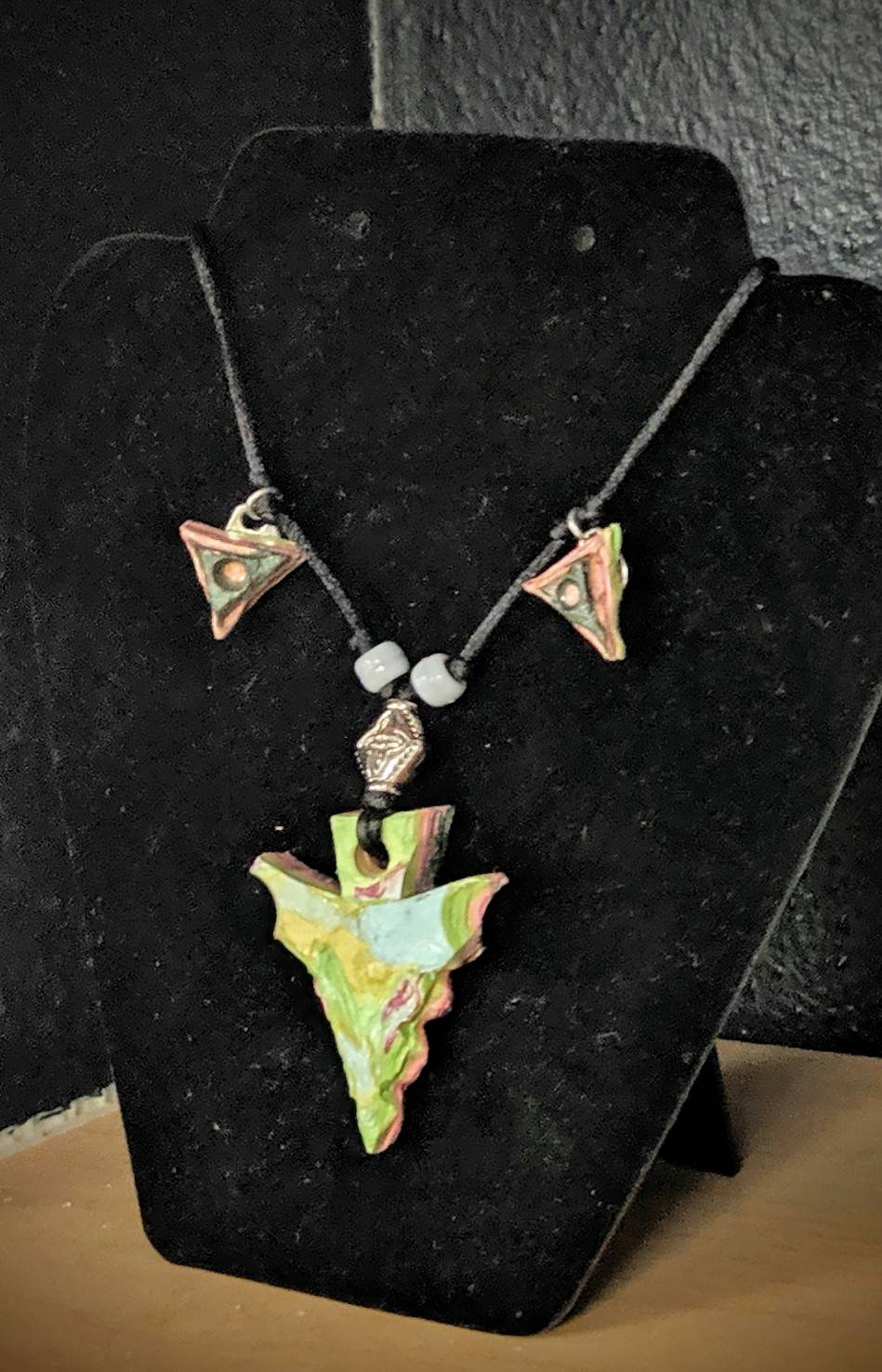 Necklace made by Jordan Townsend, Grade 12